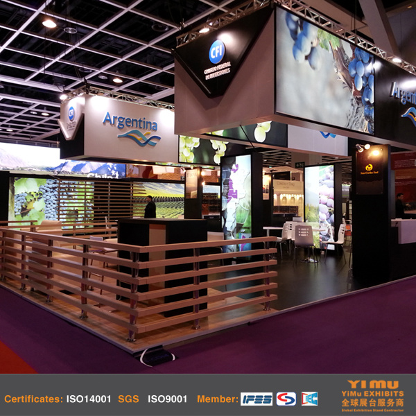 Exhibition Booth Manufacturer China : China exhibitioin booth manufacturers for hk vinexpo show