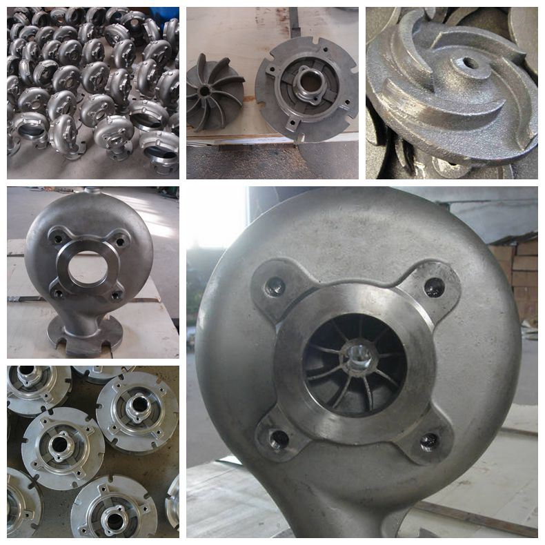 Ductile Iron Pump Impeller for Curomized Pump