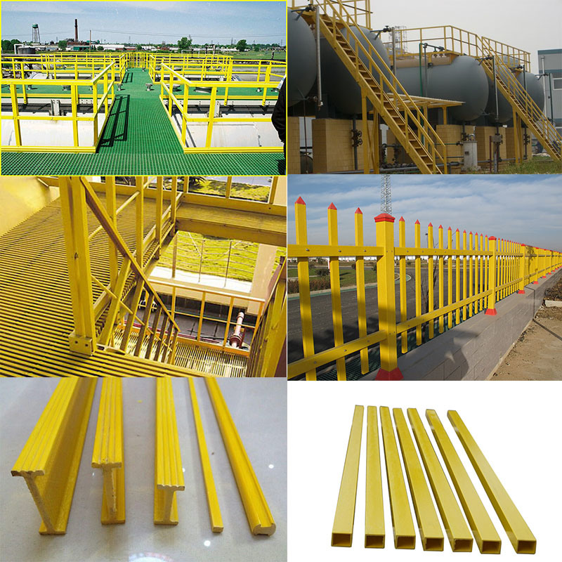 Fiberglass Structural Sections : China corrosion resistant frp structural shapes