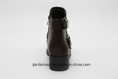 Lady Sequin Sexy PU Women Shoes with Ankle Boots (AB610)