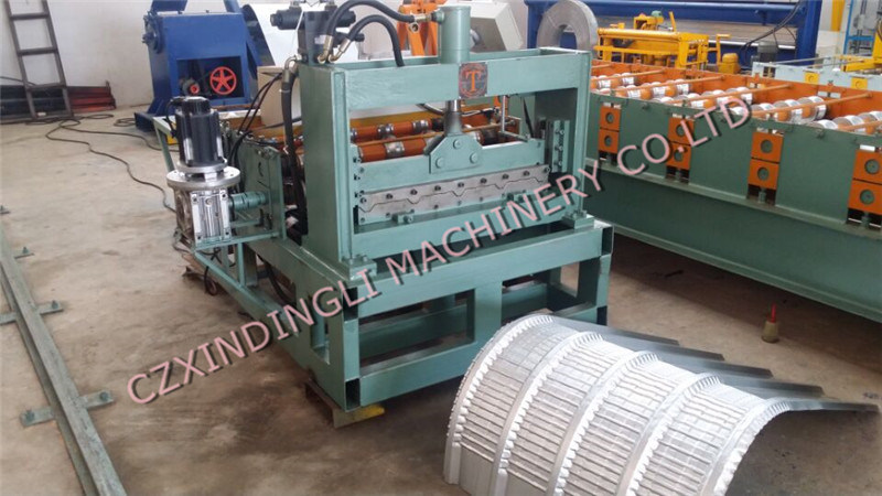 Indian Style Colored Steel Arched Roof Machine