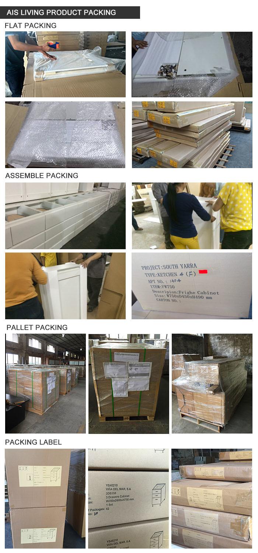 고전적인 작풍 Sharker PVC 부엌 찬장 가구 (AIS-K033) – 고전적인 ...