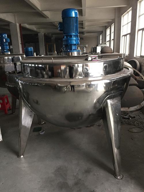 POT di cottura industriale con il miscelatore per industria del latte – POT di cottura ...