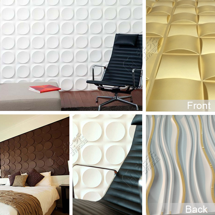 Pvc Wall Panels Interior : China pvc wall panels interior d wallpaper for office