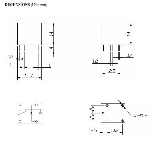 relais automobile relais de voiture 12v 30a t78 nrp18 relais automobile relais de voiture. Black Bedroom Furniture Sets. Home Design Ideas