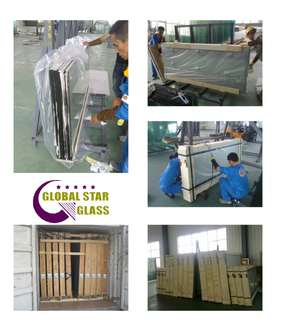 Lowe Double Glazing Glass/Igu Glass/High Performing Glass