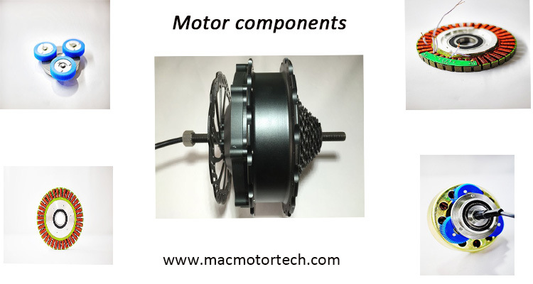 China mac brushless dc ebike motor high torque high power for High power brushless dc motor
