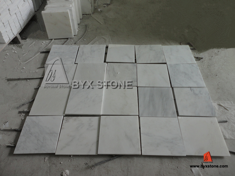 Par Marble Floor : Tuiles de marbre en pierre polished normales pour le mur
