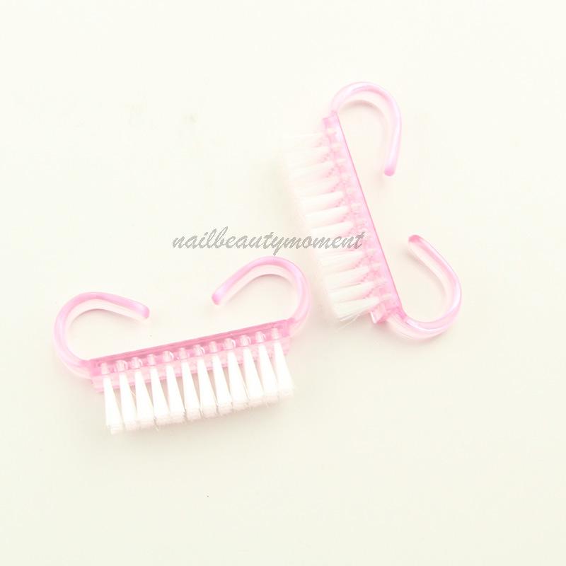 Plastic Nail Dust Brush Manicure Tools (B019)