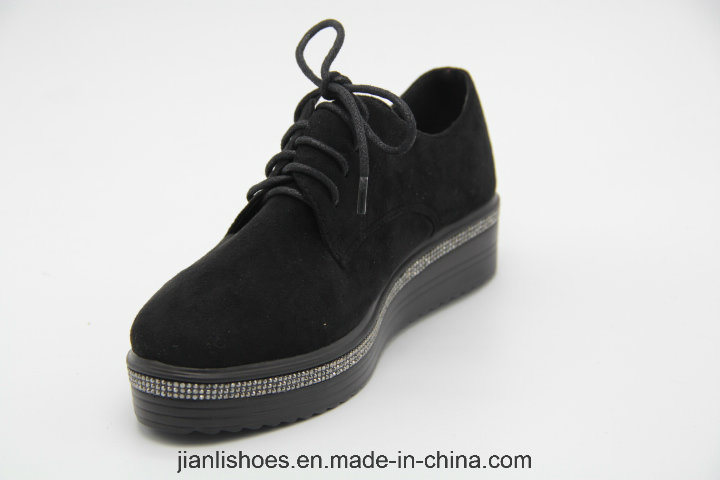 Classic England Style Casual Shoes for Fashion Women (POX92)