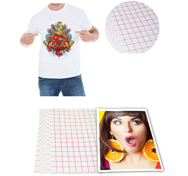 how to use transfer paper for t shirts