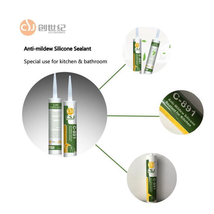 RTV Curing Silicone Sealant for Bathroom