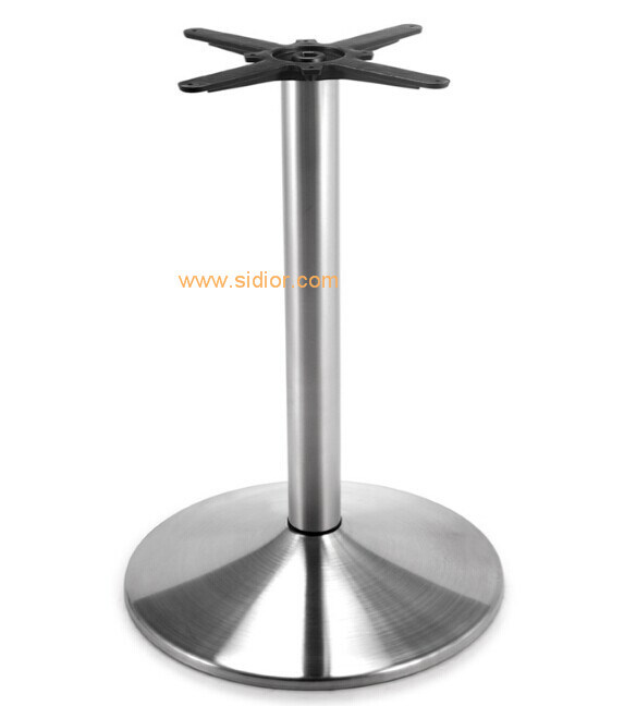 (SC-737) Restaurant Dining Furniture Base Stainless Steel Metal Table Legs
