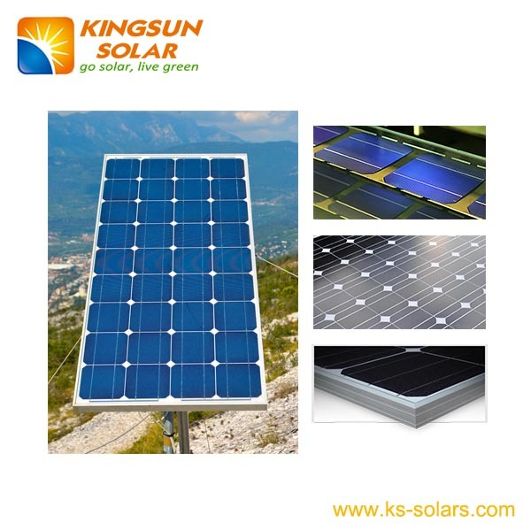 120W Special Power Mono Solar Cell Modules