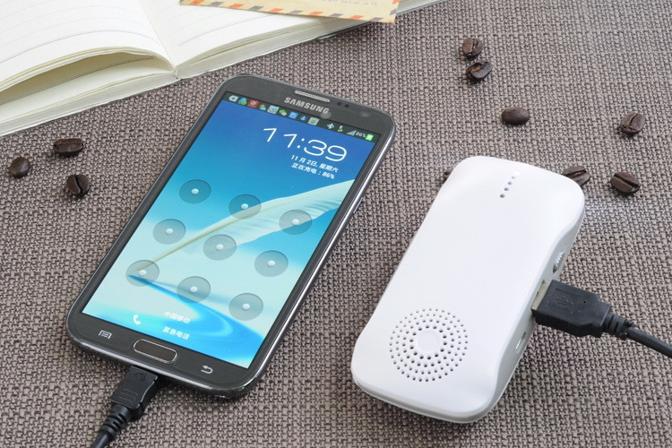 Multifunction Bluetooth Speaker Mobile Power Bank