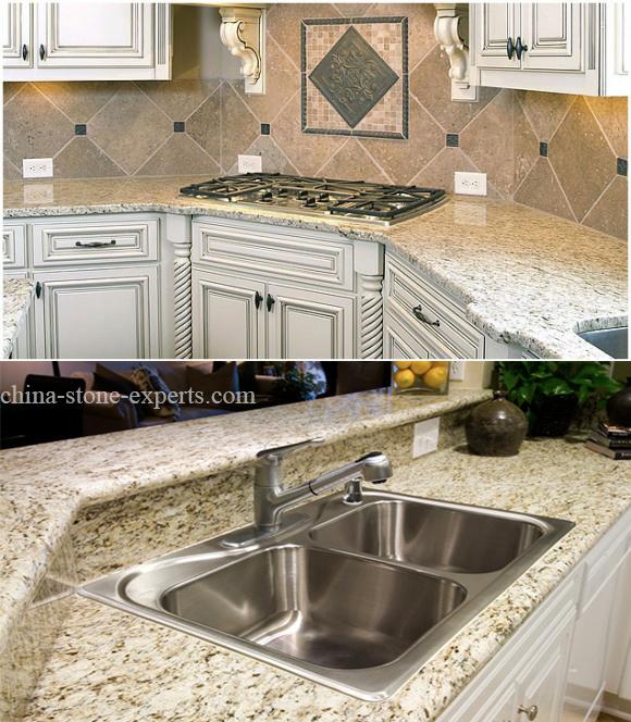 haute poli giallo ornement d 39 or granite comptoir de cuisine haute poli giallo ornement d 39 or. Black Bedroom Furniture Sets. Home Design Ideas