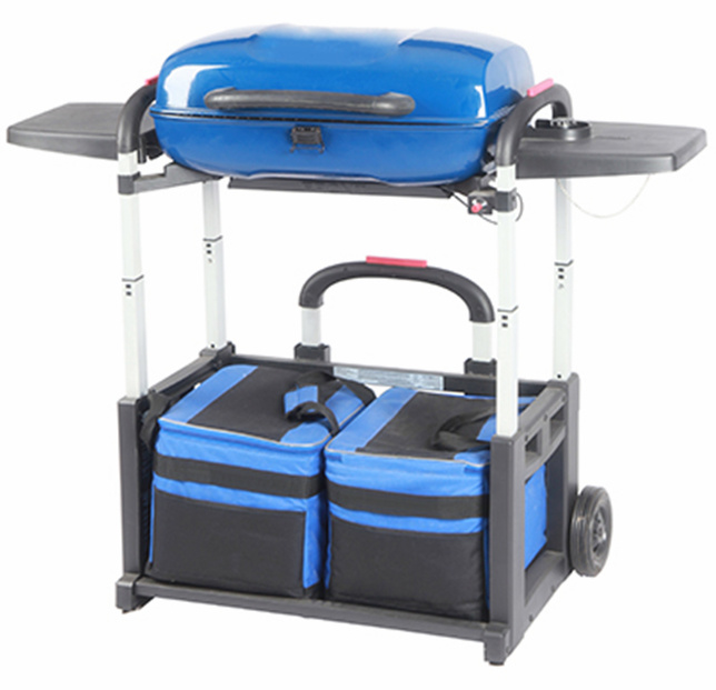 Bbq portatile grill di foldable gas per travel camping - Barbecue a gas portatile ...