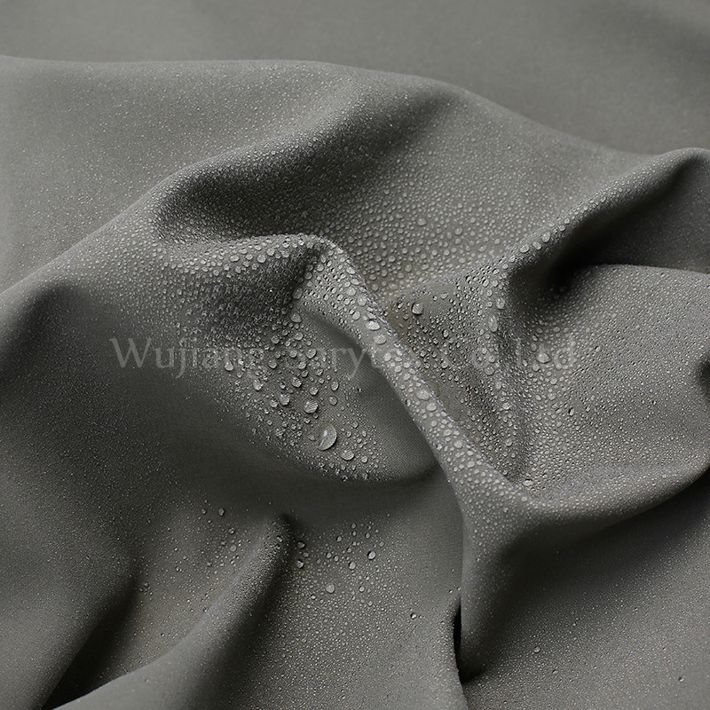C1234 Nylon 2layers 90d Aty*70d DTY+40 145*86 257gr/Sm 145cm Pd Wrc6 Fleece Bonded
