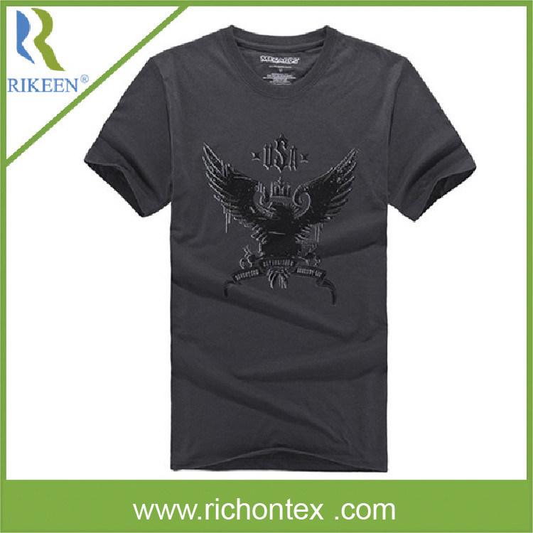 Camiseta 100 sola camiseta impresa de pringing de la for Single shirt screen printing