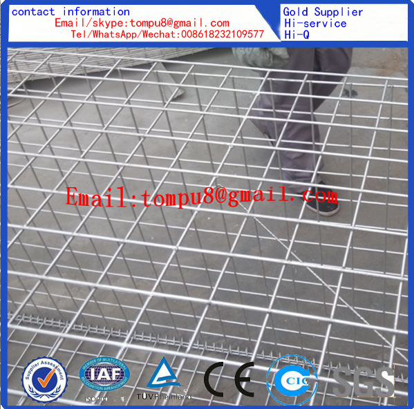 Welded Wire Gabion Mesh and Hexagonal Gabion Mesh /Hot Sale