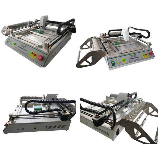 Direct Manufacturer SMT Pick and Place Machine with Camera 46 Feeders
