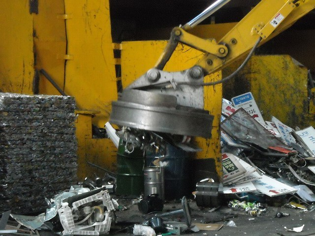 Excavator Magnet for Steel Scrap Yard