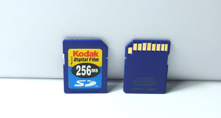 Memory card old data recovery