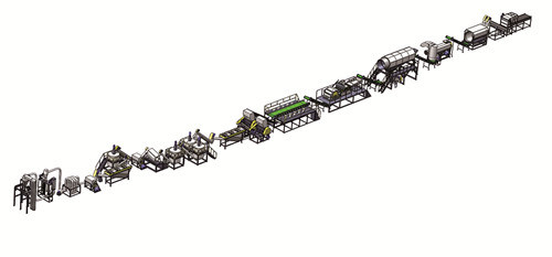 Pet Bottle Washing Line and Recycling Machinery