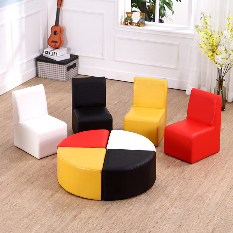 china hot sale kids sofa with ottoman for kindergarten furniture china children furniture. Black Bedroom Furniture Sets. Home Design Ideas