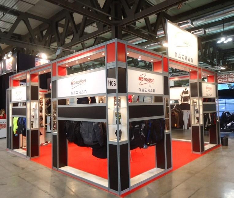 Pr sentoir modulaire en aluminium de cabine d 39 exposition d for Stand modulaire aluminium