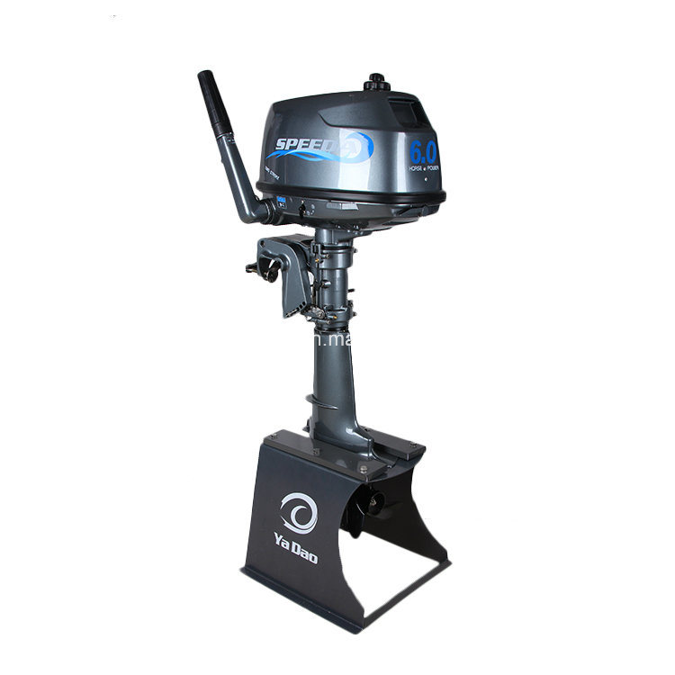 China High Quality 2 Stroke 6hp Outboard Motor For Sale