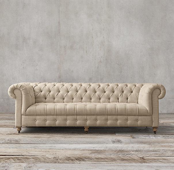 Chesterfield muebles para la sala cambridge tapizada sofá ...