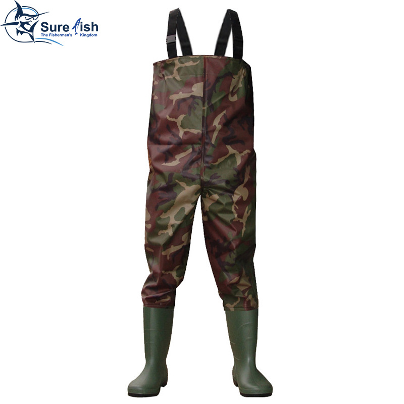 China free shipping neoprene waterproof fishing chest for Chest waders for fishing