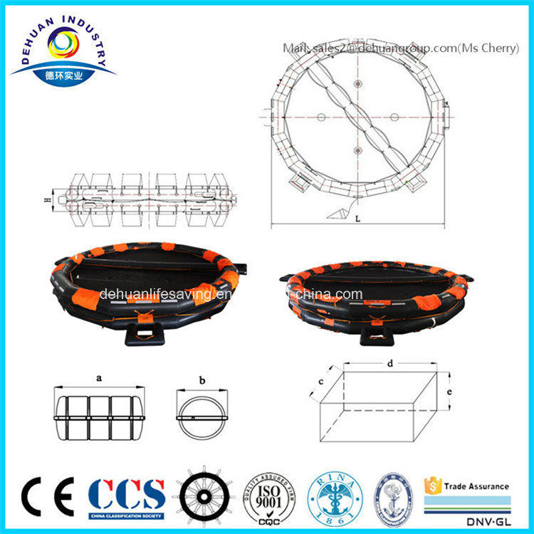 China open reversible life rafts for sale china life for Four man rubber life craft
