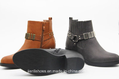 Sexy Buckle Ankle Boots for Fashion Women (AB622)