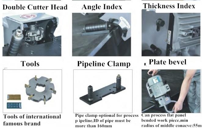 manual pipe cold cutting machine