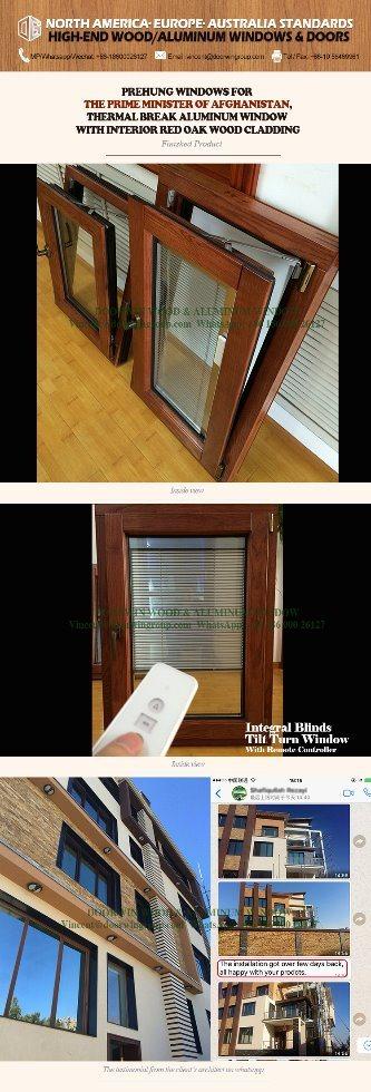 Ventana abatible de aluminio con ventana integrada ventanas integradas persiana integral ventana - Ventana con persiana integrada ...