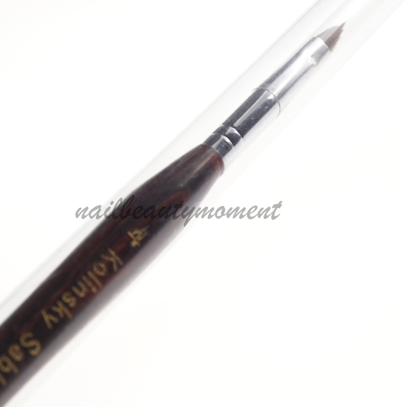Nail Art Kolinsky Sable Gel Builder Brush Tools (B030)