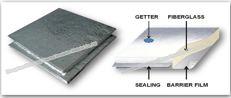 China vacuum insulation panel fiberglass thermal for Fiberglass thermal insulation
