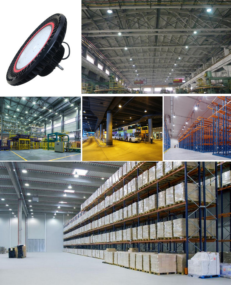 Manufacturer Outdoor IP65 180W UFO LED Highbay Light