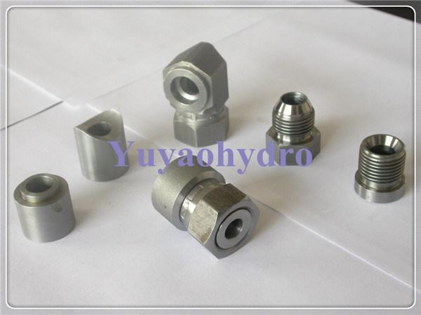 Straight weld pipe fittings swivel nut
