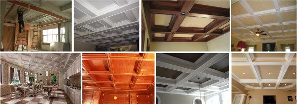 Composite Panel Ceiling : China hot sale decorative wood plastic composite