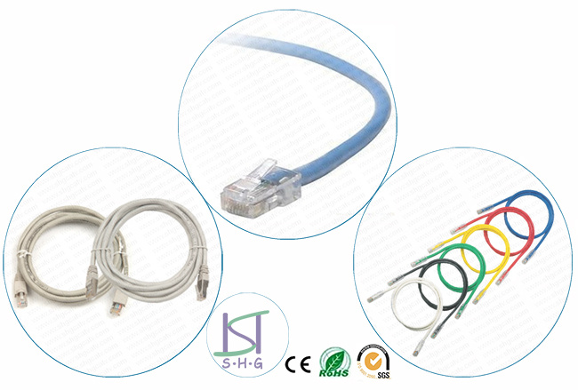 China Cat5e Cat6 Utp Ftp Sftp Lan Cable Patch Cord China