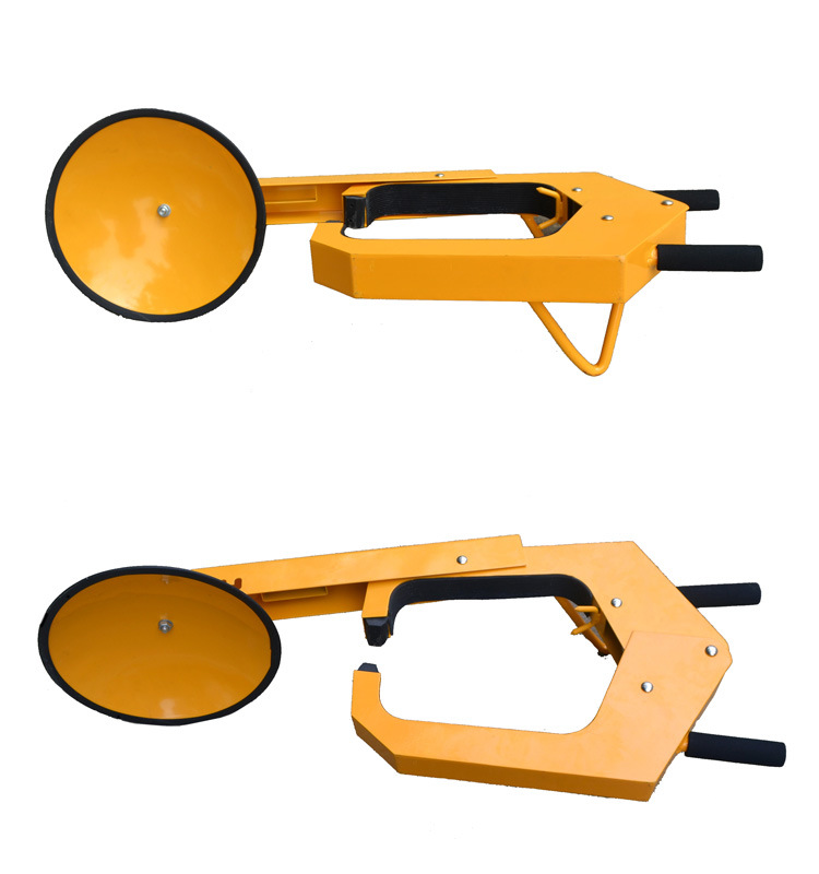 Spray Paint Wheel Clamp