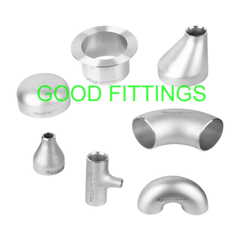 China stainless steel pipe fittings reducer astm butt