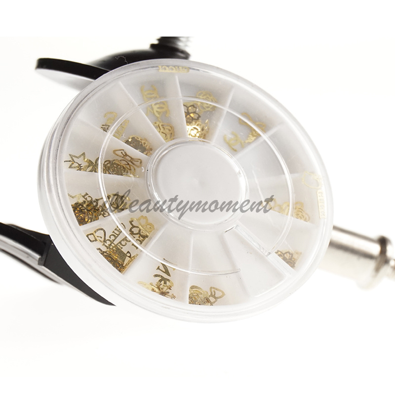 3D Nail Art Metal Decoration Wheel Accessories (D62)