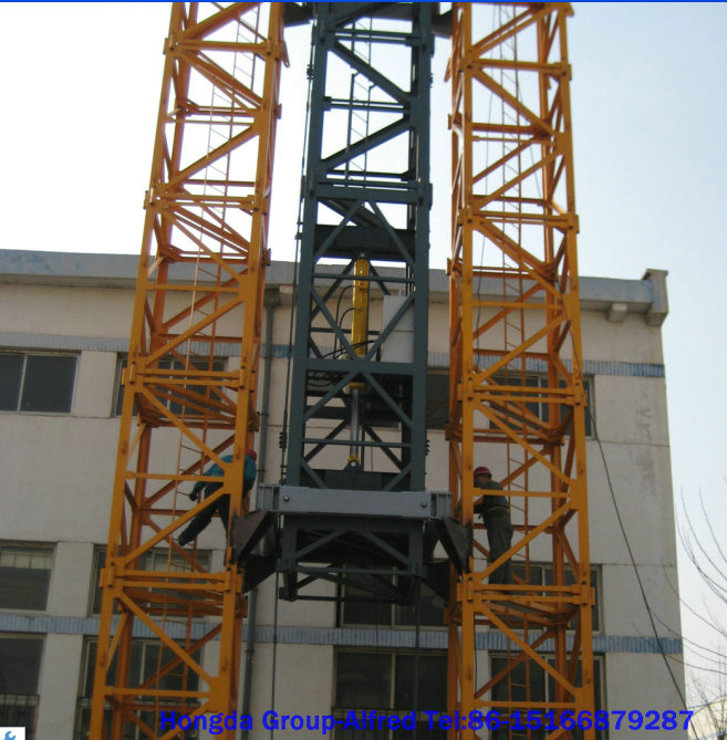 Tower Crane Climbing : China hongda good quality tc inner climbing tower