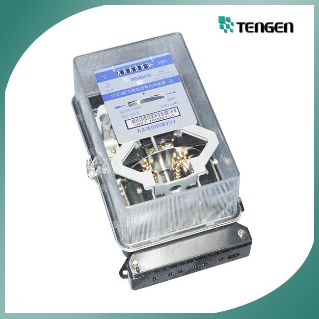 Single Phase Meter Mechanical : China three phase ac active mechanical kilowatt hour meter
