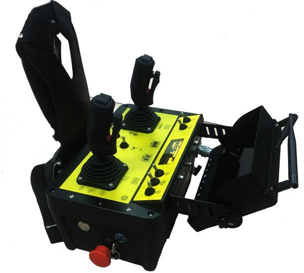 Mining Visual Range Radio Remote Controls System