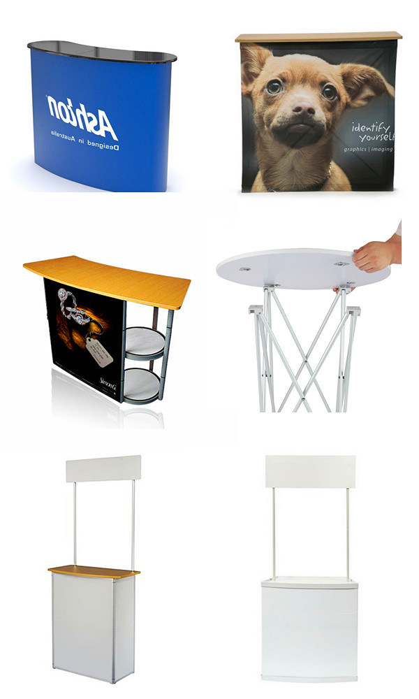 PVC Portable Promotion Table with a Header